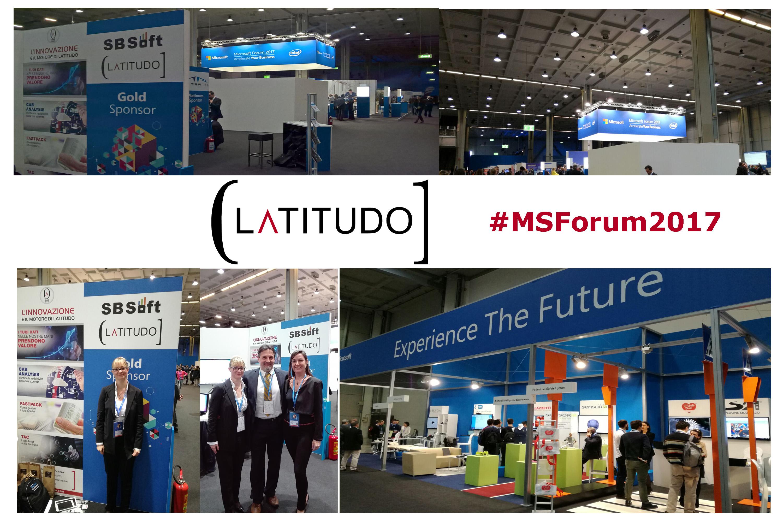 Latitudo ha partecipato al MSForum 2017 come Gold Sponsor
